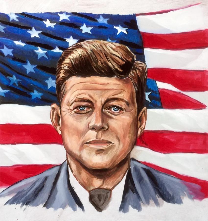 John F. Kennedy by polyarny